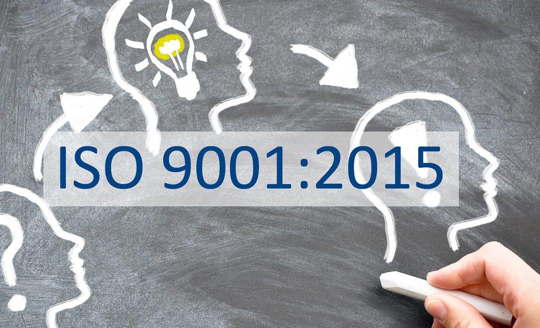 CORSO ECM su I SISTEMI DI GESTIONE DELLA QUALITA' IN SANITA': LA NUOVA ISO 9001: 2015